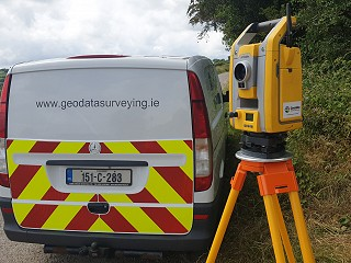Engineer conducting Topographical Survey